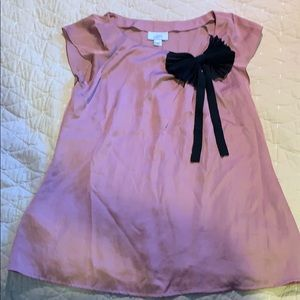 NWOT Ann Taylor Loft blouse with a bow